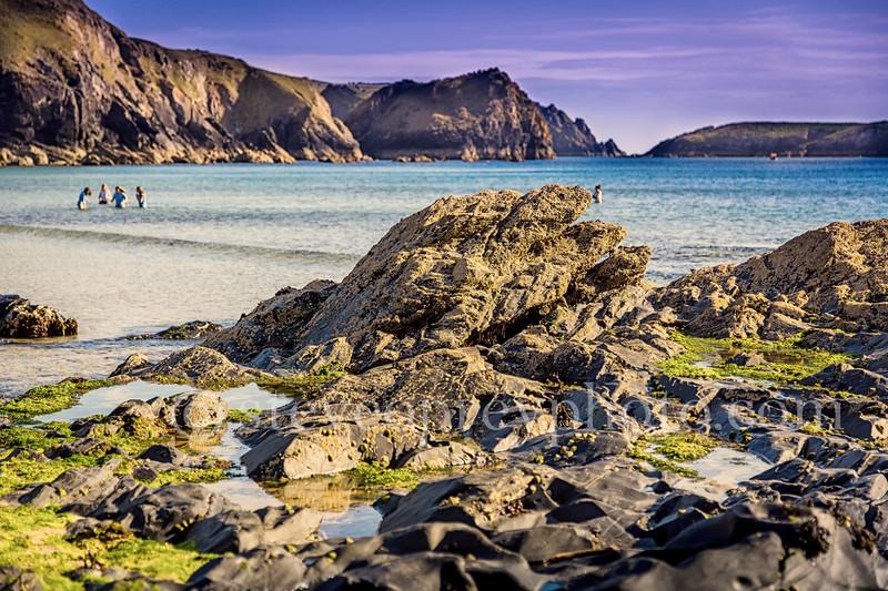 Rugged Coastal Rocks