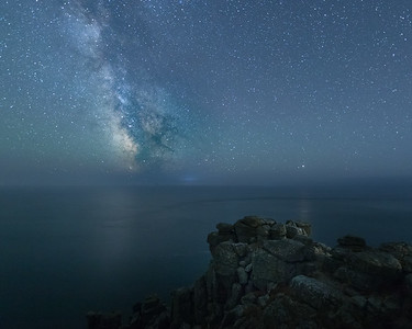 The Galactic Core At Lands End