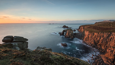 Winter Granite Sunset at Lands End_4