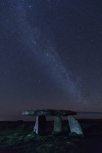 Milky Way at Lanyon Quoit