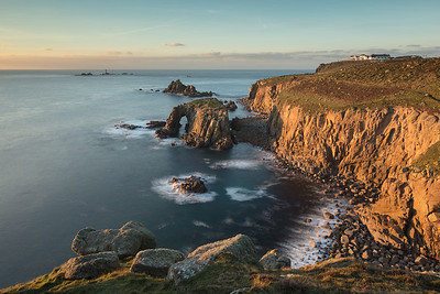 Winter Granite Sunset at Lands End_3