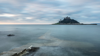 Incoming Tide At At Michaels Mount - 5