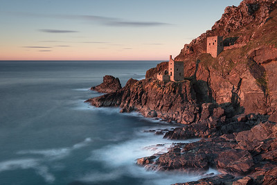 Sunset at The Crowns, Botallack - 1