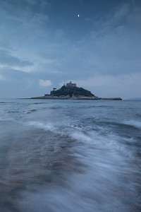Incoming Tide At At Michaels Mount - 3