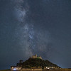 Milky Way Galactic Core Over St Michaels Mount - 3