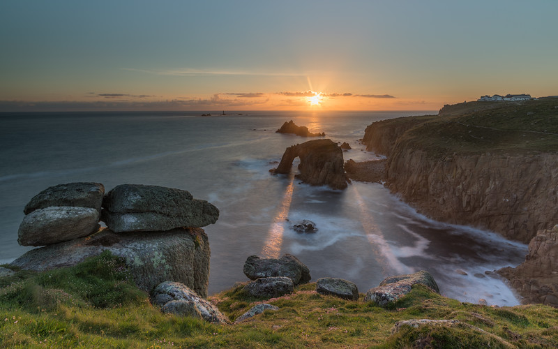 Sunset at Lands End 3x2