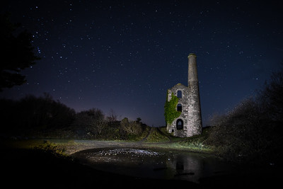 United Downs engine house, Cornwall