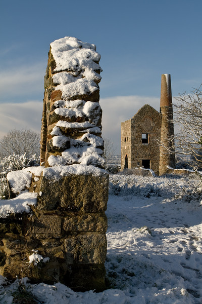 Winter at Wheal Peevor