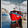 Red BoatMevagissey Harbour