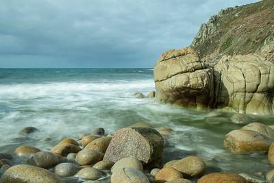 Porth Nanven rocks