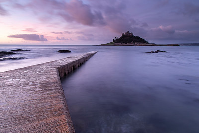 St Michael's Mount from angled causeway