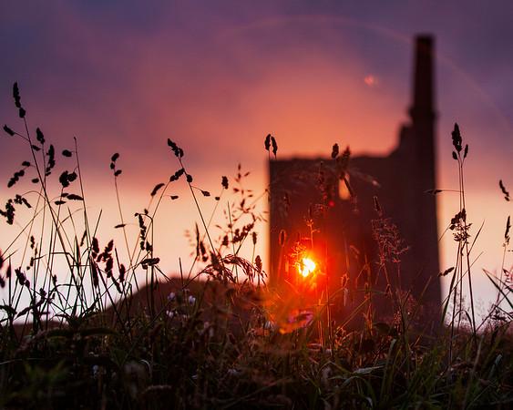 Tin Mine sunset