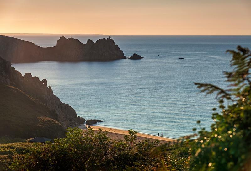 Porthcurno dawn swim