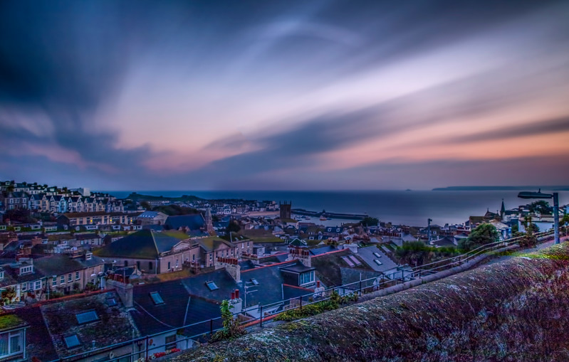 St Ives in Cornwall at sunrise