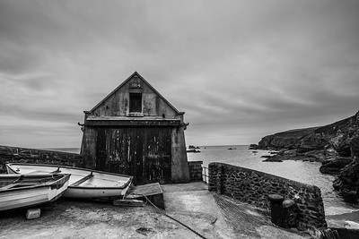 Old lifeboat station