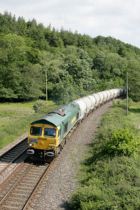 66622 at Restormel with the return cement on 090605
