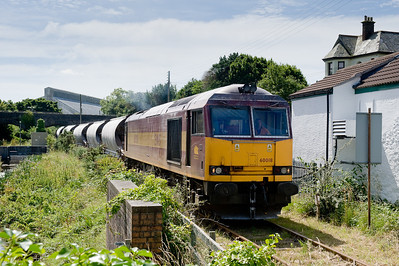 Having worked into Cornwall the day before 60018 is on the PAr docks branch with the weekly trip working