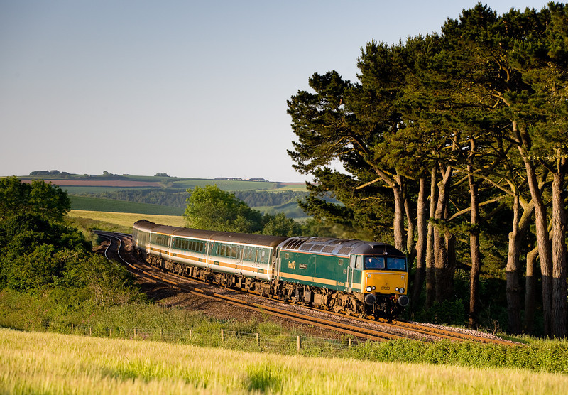 080605 57603 at trerulefoot with the down sleeper