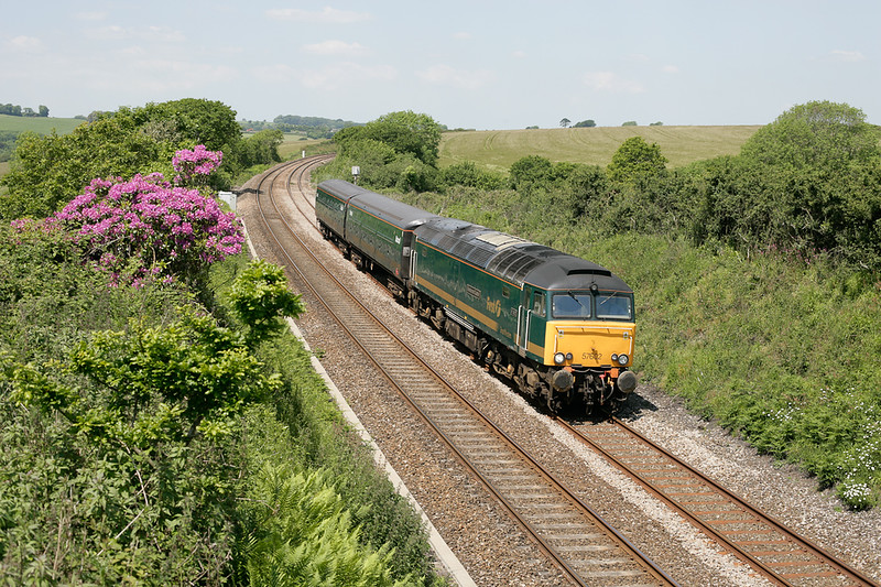 57602 on a Pnz-Laira stock move at Trerulefoot on 090605