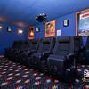 Ground-Level Theater Room