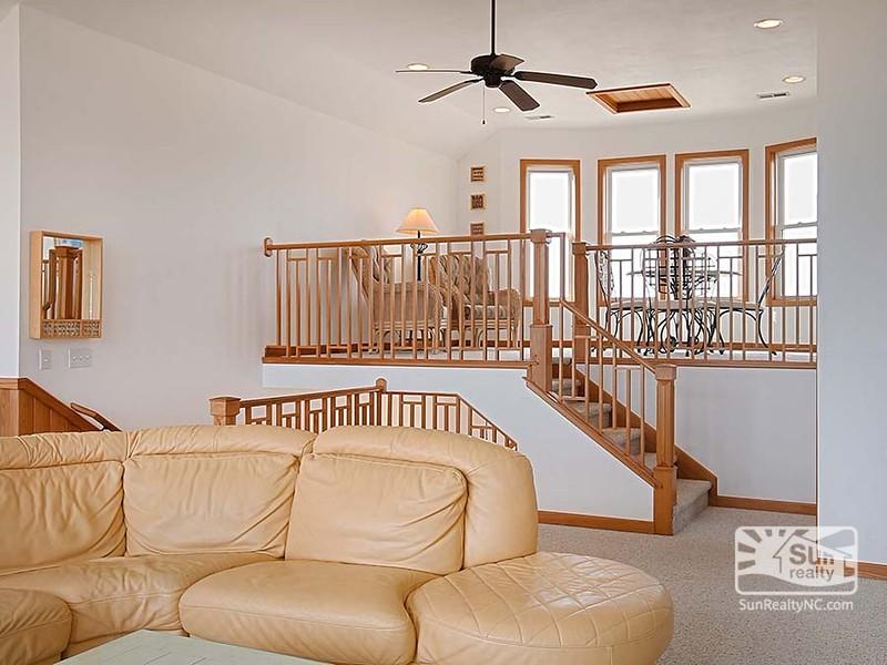 Loft off Living Area