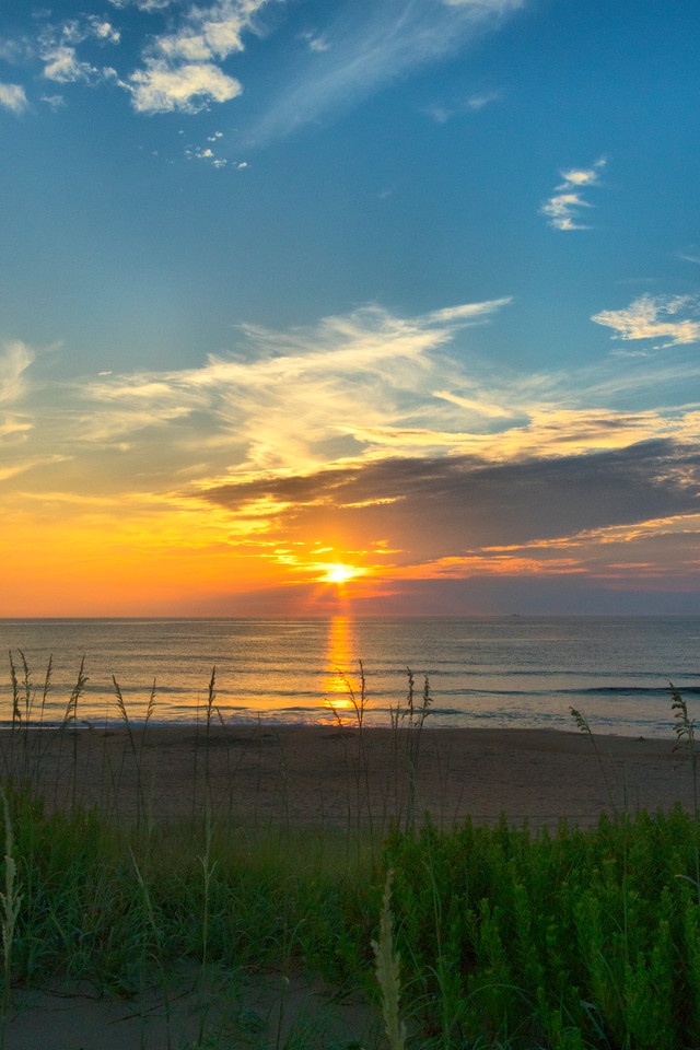 Sunrise over Kill Devil Hills