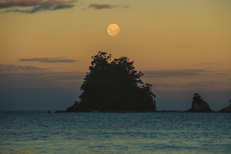 Moonrise Over Mauhaka