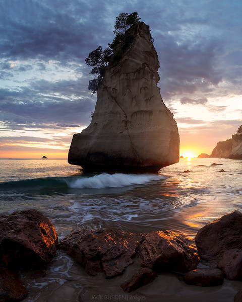 Cathedral Cove Dawn