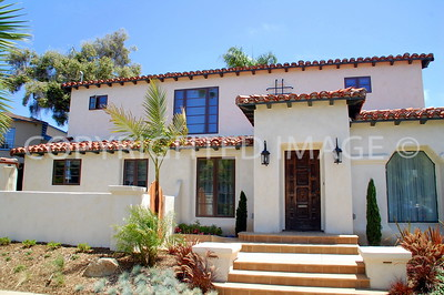 465 Palm Avenue, Coronado, CA; 1929 Spanish Colonial Revival