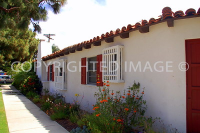 535 Margarita Avenue, Coronado, CA - 1938 Spanish Hacienda, Cliff May Architect