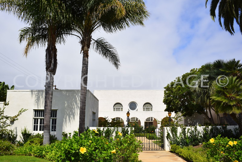 1123 Eighth Street, Coronado, CA - 1927 First Church of Christ, Scientist, Irving Gill, Architect