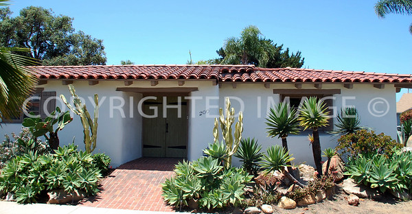 200 Palm Avenue, Coronado, CA - 1935 Spanish Colonial Revival Style