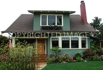 """744 """"B"""" Avenue, Coronado, CA; 1911 Craftsman Bungalow"""