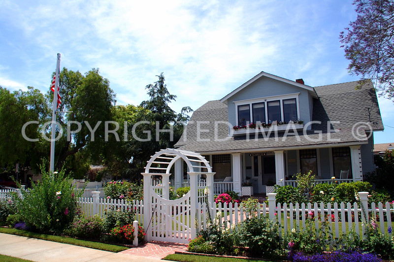 627 1st Street, Coronado, CA; 1907 Dutch Colonial Revival Style