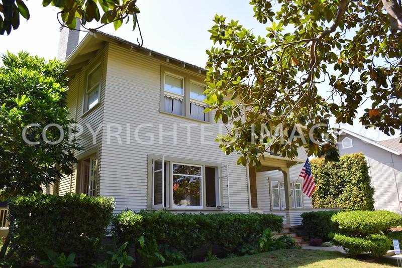 1718 Visalia Row, Coronado, CA - 1896 Mary Cossitt Residence #1, Irving Gill, Architect