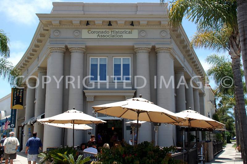 1100 Orange Avenue, Coronado, CA; 1911 Neo-Classical, MacDonald & Applegarth, Architects