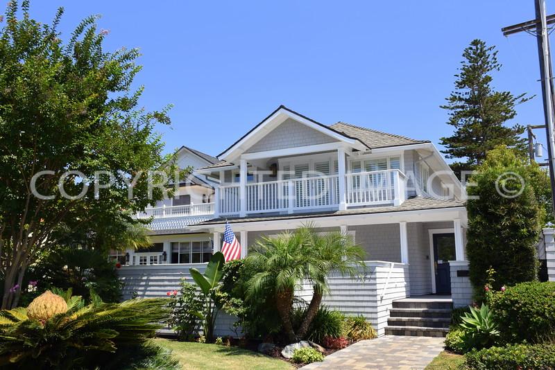 1127 Flora Avenue, Coronado, CA - 1899 Mary Cossitt Residence #3, Irving Gill, Architect