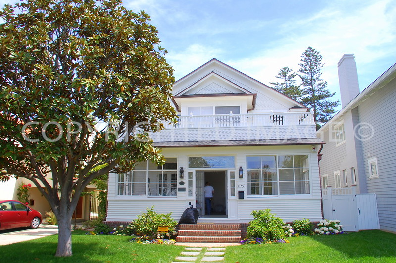 1125 Flora Avenue, Coronado, CA; Circa 1897 Late Victorian Style
