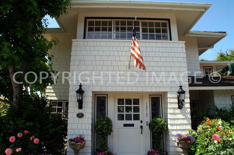 1212 Sixth Street, Coronado, CA; 1912 Prairie Style, Herbert Louis Jackson, Architect