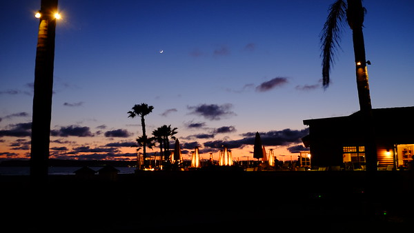 Coronado Hotel Sunset