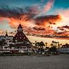 Hotel Del Coronado At Sunrise