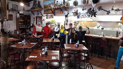 Coronados Resturant TJ Breakfast and Halloween costumes