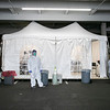 UMass Memorial HealthAlliance-Clinton Hospital in Leominster has set up a tent outside in the parking garage to test for the coronavirus. This is a test only after you have talked to your primary care physician and they given you a note to have the test done. SENTINEL & ENTERPRISE/JOHN LIOVE