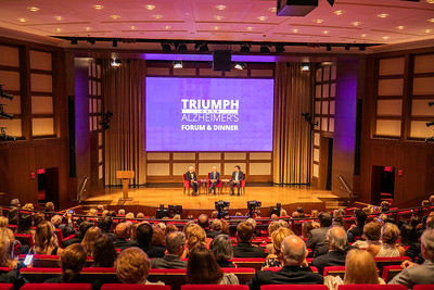 2018 Triumph over Alzheimer's Forum & Dinner at the George Bush Institute in Dallas, Texas on May 7, 2018. (Photo by/Sharon Ellman)