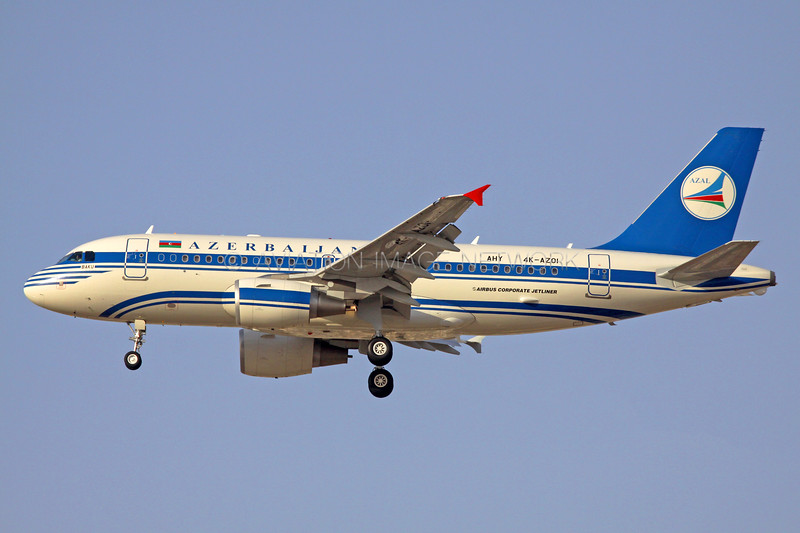 4K-AZ01 | Airbus A319-115X ACJ | Azerbaijan Government
