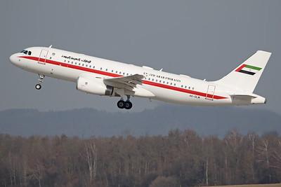 A6-DLM   Airbus A320-232 ACJ   Abu Dhabi Presidential Flight