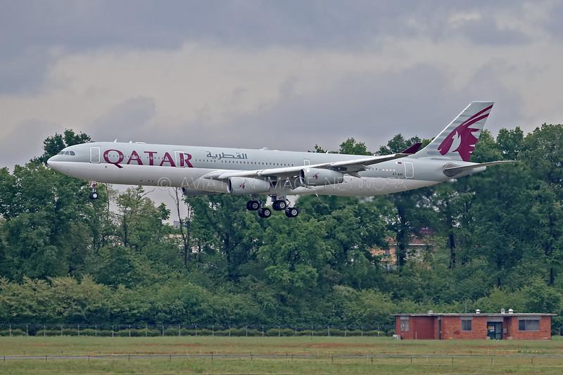 A7-AAH | Airbus A340-313 | Qatar Amiri Flight