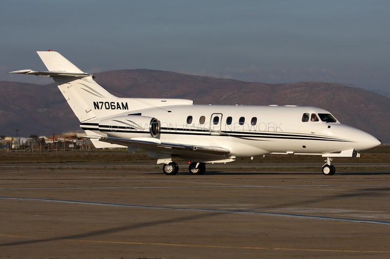 N706AM |  British Aerospace 125-700A | Air Mark One LLC