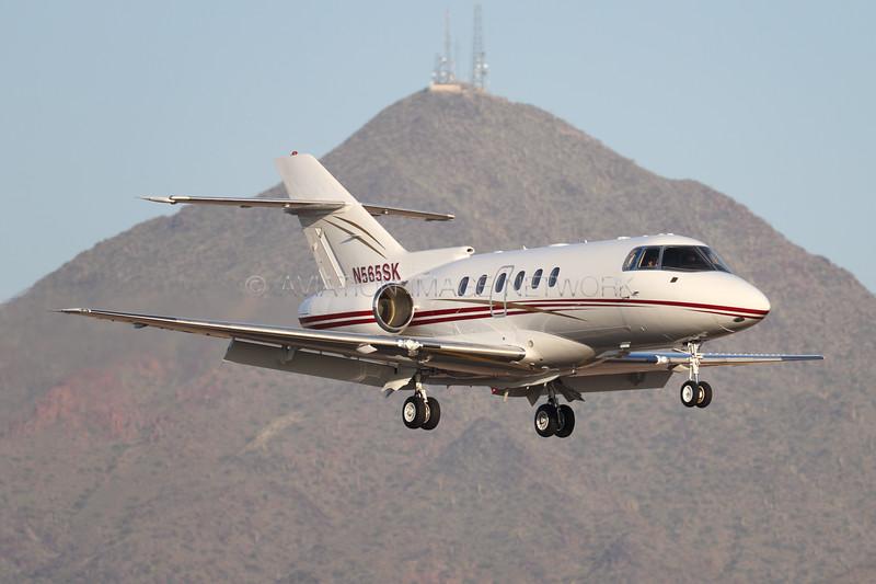 N565SK   British Aerospace 125-800XP   Pacific Challenger Aircraft Services LLC