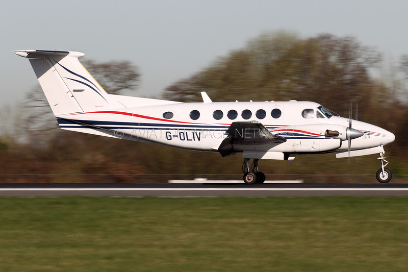 G-OLIV | Beechcraft B200 Super Kingair | Dragonfly Aviation Services Ltd